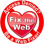 Logo for Fix the Web