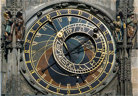 Photo of Astronomical Clock in Prague by grufnik (from Flickr)
