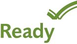 Logo for Ready.gov